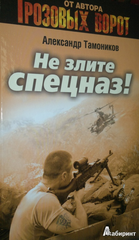 Иллюстрация 1 из 5 для Не злите спецназ! - Александр Тамоников | Лабиринт - книги. Источник: Леонид Сергеев