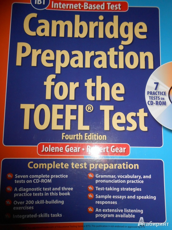 Toefl Test Book