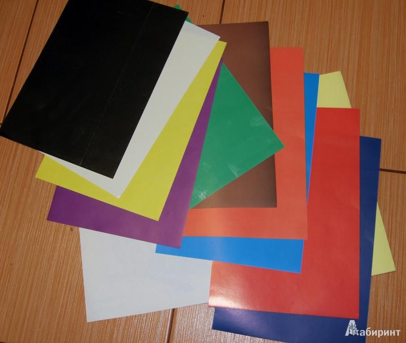 Иллюстрация 1 из 3 для Набор цветной бумаги мелованной, 10 цветов, 10 листов (TZ-8107) | Лабиринт - канцтовы. Источник: брусничкина  яна