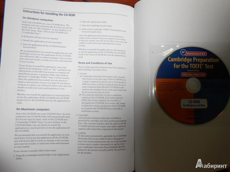 cambridge preparation for the toefl test audio cds 8 cambridge preparation for the toefl test