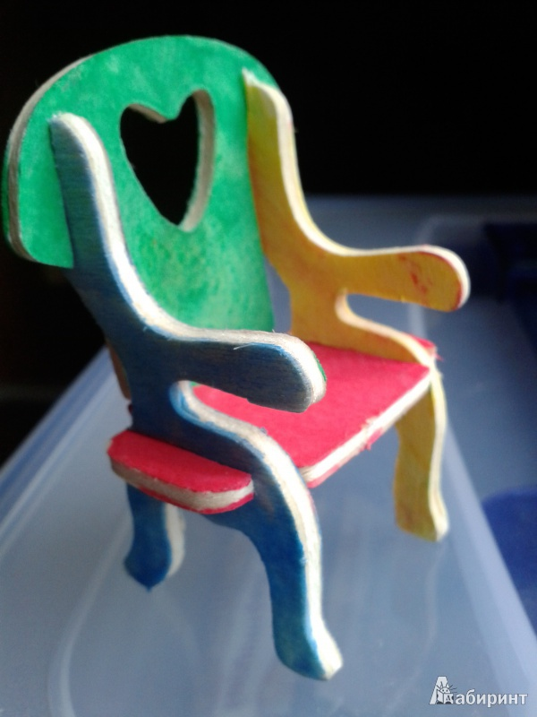 Иллюстрация 1 из 4 для Кресло (MA1026) | Лабиринт - игрушки. Источник: Колдашова  Любовь