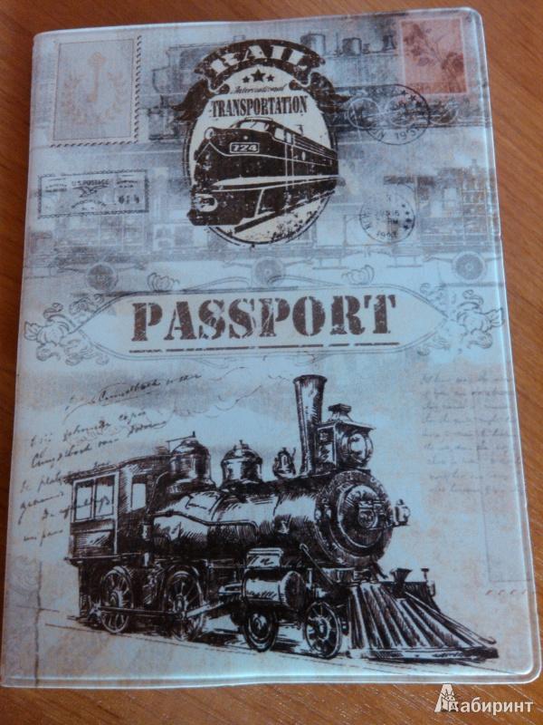 Иллюстрация 1 из 3 для Обложка для паспорта (29060) | Лабиринт - канцтовы. Источник: ejouny