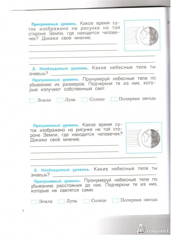 Иллюстрация из для Проверочные и контрольные работы к  Иллюстрация 9 из 27 для Проверочные и контрольные работы к учебнику Окружающий мир