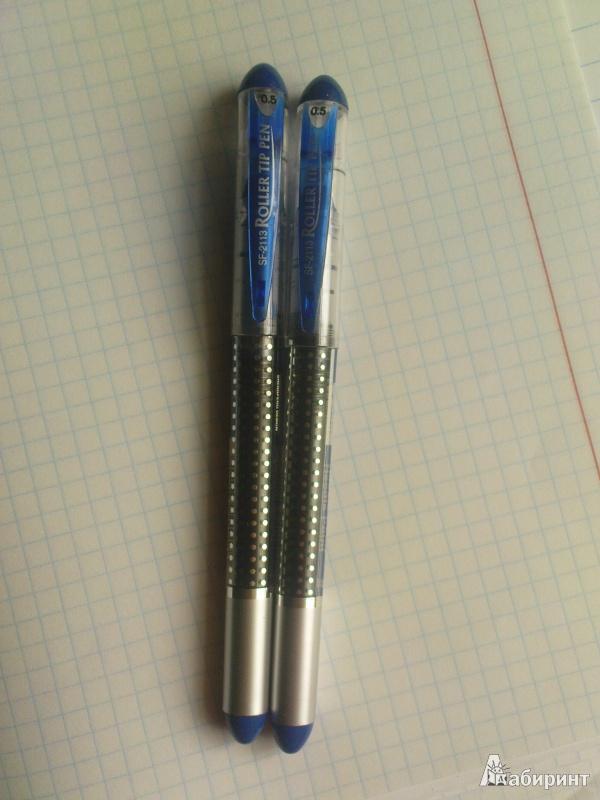 Иллюстрация 1 из 13 для Ручка роллер Lantu, синяя (SF2113С) | Лабиринт - канцтовы. Источник: mariaa