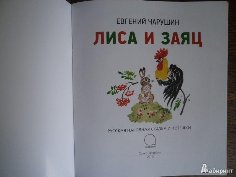 Иллюстрация 3 из 51 для Лиса и заяц - Евгений Чарушин | Лабиринт - книги. Источник: Karfagen