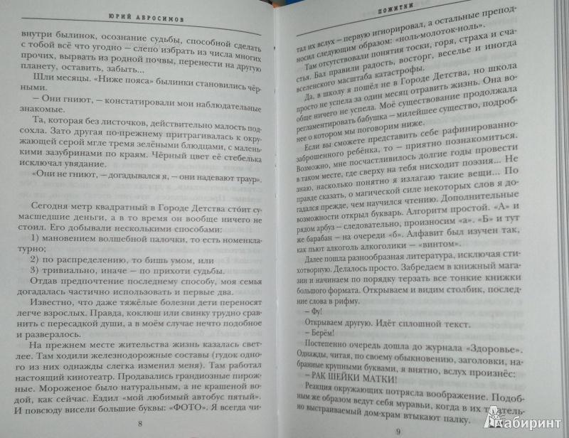 Иллюстрация 6 из 11 для Пожитки - Юрий Абросимов | Лабиринт - книги. Источник: Леонид Сергеев