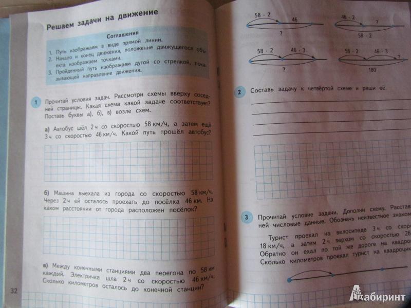 Рабочая класс часть нефедова и математике 1 по гдз тетрадь башмаков 4