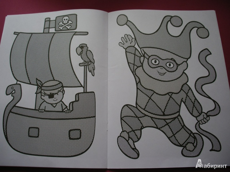 Иллюстрация 13 из 27 для Раскрась водой. Мои любимые сказки   Лабиринт - книги. Источник: Tiger.