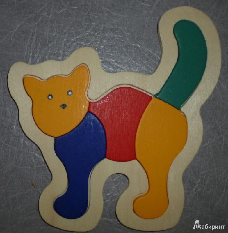Иллюстрация 1 из 2 для Кошка (D152) | Лабиринт - игрушки. Источник: Ерофеева  Наталья