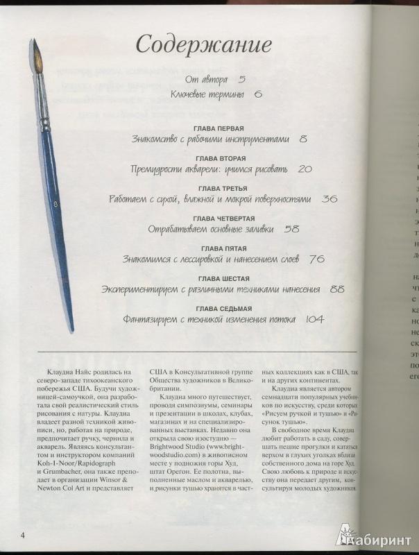 Иллюстрация 1 из 22 для Акварель для начинающих - Клаудиа Найс | Лабиринт - книги. Источник: * Ольга *