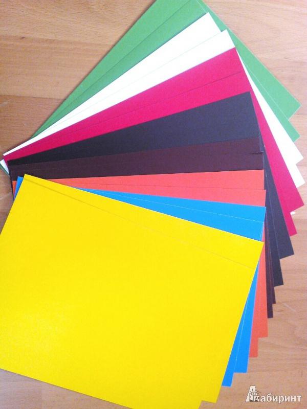 Иллюстрация 1 из 14 для Набор цветного картона 16 листов (FKIN-7416-VM) | Лабиринт - канцтовы. Источник: Андреева  Мария Павловна