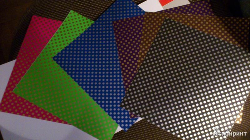 Иллюстрация 1 из 2 для Набор для оригами ТОЧКИ И ПОЛОСЫ (11-07-180/2) | Лабиринт - игрушки. Источник: Капля дождя