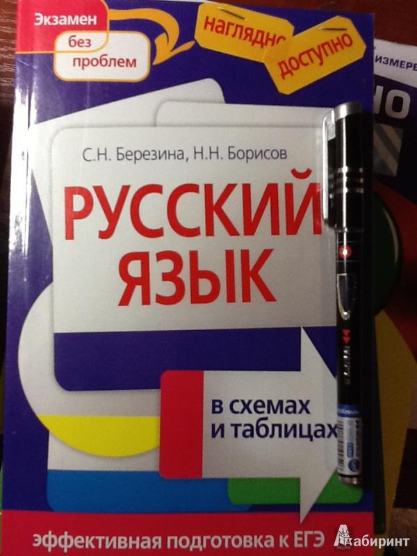 Русский в схемах и таблицах фото 451