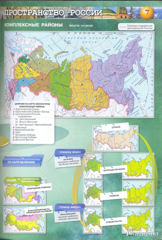 атлас по географии 8-9 класс сферы