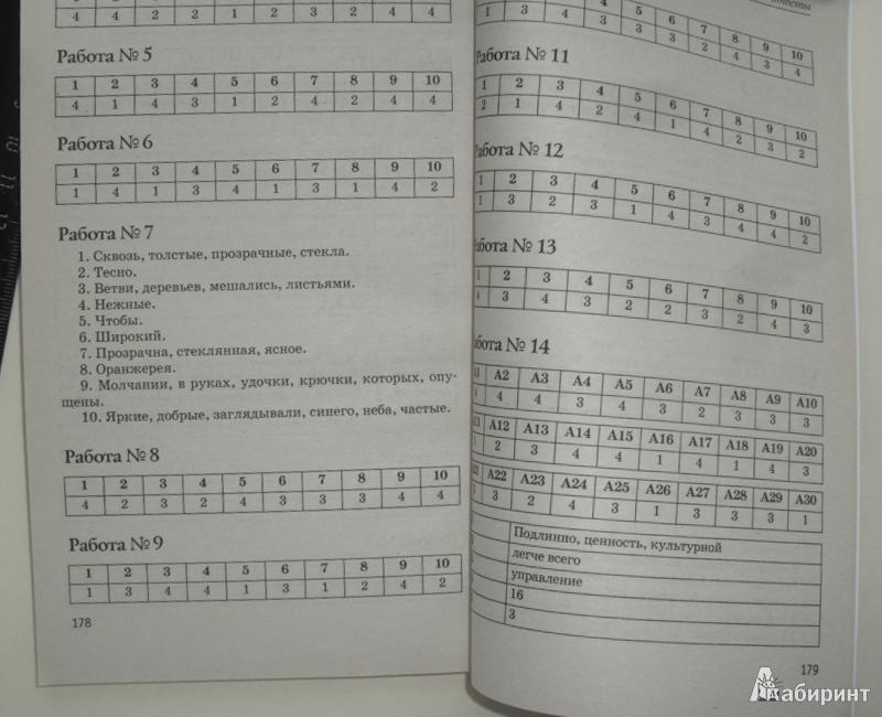 Гдз тесты по русскому языку 8 класс сенина