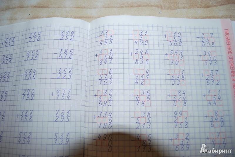 математике 4 комплексный тренажер по класс решебник