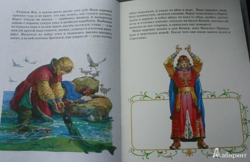 Иллюстрация 1 из 28 для Царевна-лягушка | Лабиринт - книги. Источник: Вольга
