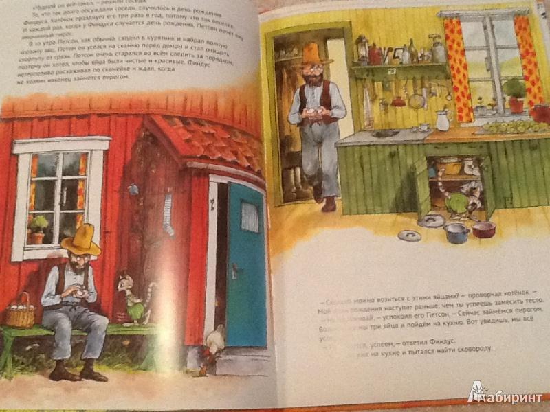 Иллюстрация 6 из 49 для Именинный пирог - Свен Нурдквист | Лабиринт - книги. Источник: Monplesir