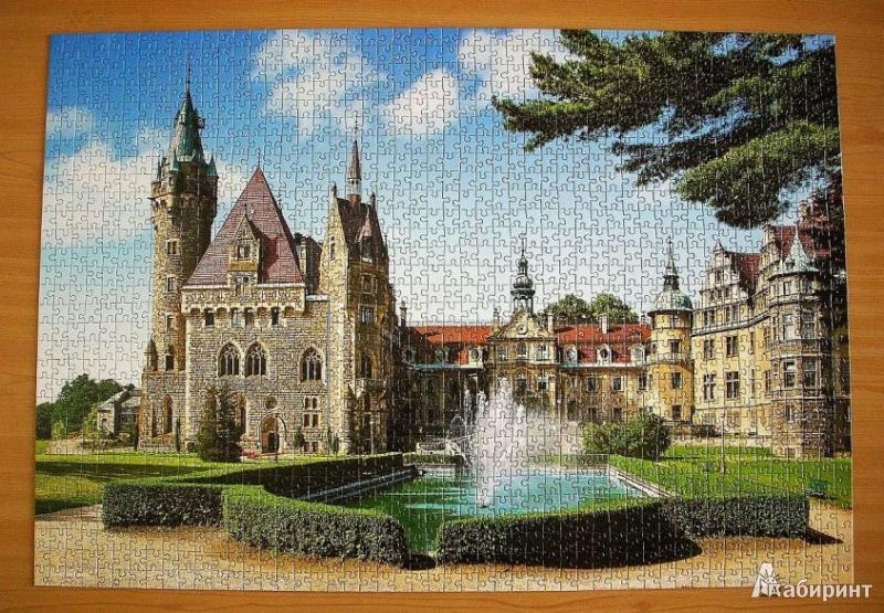 Иллюстрация 1 из 9 для Puzzle-1500. Замок. Польша (С-150670)   Лабиринт - игрушки. Источник: НеБлондинка