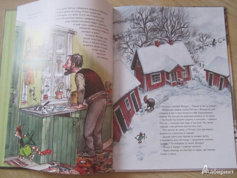 Иллюстрация 36 из 85 для Рождество в домике Петсона - Свен Нурдквист | Лабиринт - книги. Источник: Shona