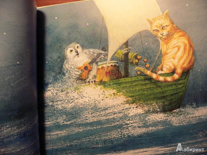 Эдварда лира кот и сова