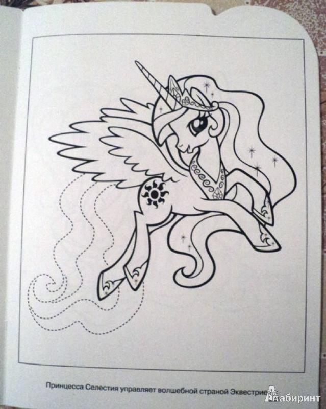 Иллюстрация 1 из 27 для Умная раскраска. Мой маленький пони (№13125) | Лабиринт - книги. Источник: Миссис Бонд