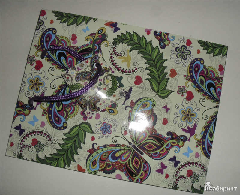Иллюстрация 1 из 4 для Пакет бумажный для сувенирной продукции 17,8x22,9x9,8 (32810) | Лабиринт - сувениры. Источник: olnlo