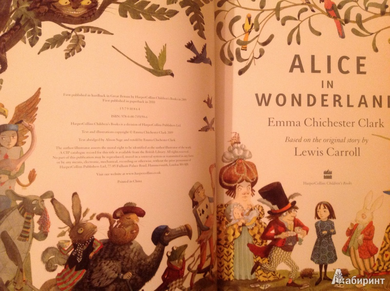 alice in wonderland book review Alice in wonderland was lewis carroll's first novel and its fantasy plot, humorous rhymes and brilliant use of nonse [.