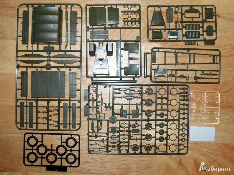 Иллюстрация 1 из 8 для 3574/Советский армейский грузовик ГАЗ-ММ | Лабиринт - игрушки. Источник: Деменков  Евгений