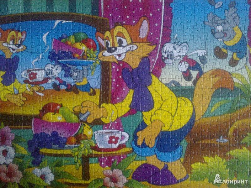 Иллюстрация 1 из 2 для Step puzzle-560 78034 Кот Леопольд | Лабиринт - игрушки. Источник: Mousse