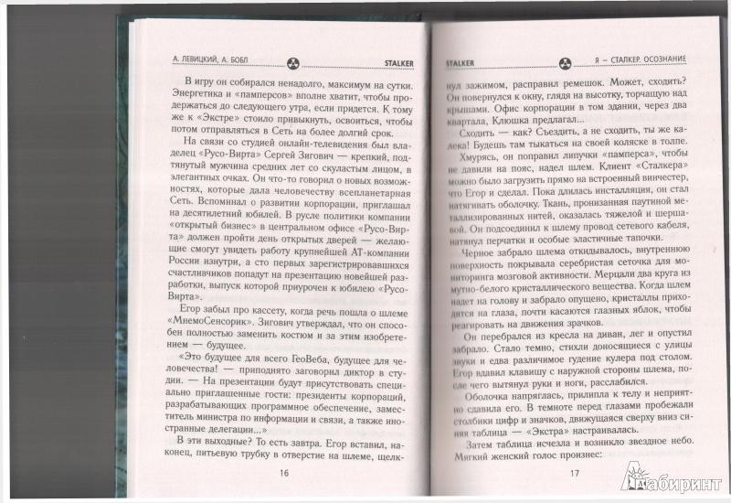 Иллюстрация 18 из 24 для Я - сталкер. Осознание - Левицкий, Бобл | Лабиринт - книги. Источник: Юлия Короткова