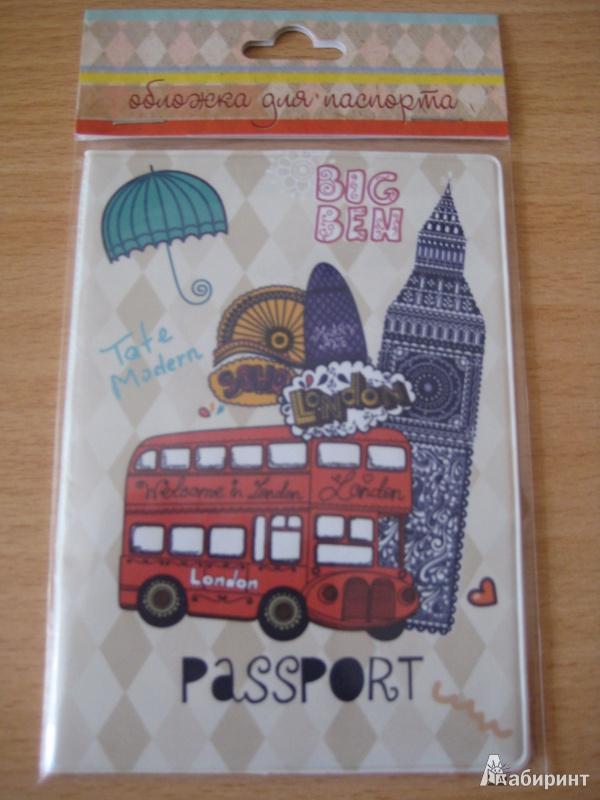 Иллюстрация 1 из 3 для Обложка для паспорта (32391) | Лабиринт - канцтовы. Источник: Шумиличева  Валентина Васильевна