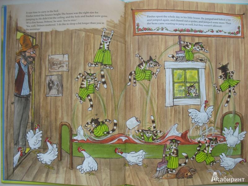 Иллюстрация 1 из 36 для Финдус переезжает - Свен Нурдквист | Лабиринт - книги. Источник: Tatyana_G