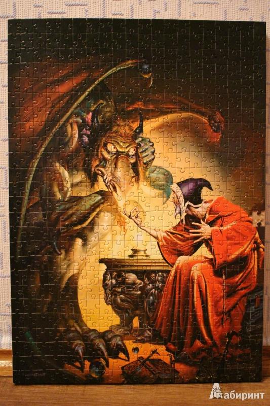 Иллюстрация 1 из 2 для Puzzle-500. Фэнтези (В-51113) | Лабиринт - игрушки. Источник: vampiroza