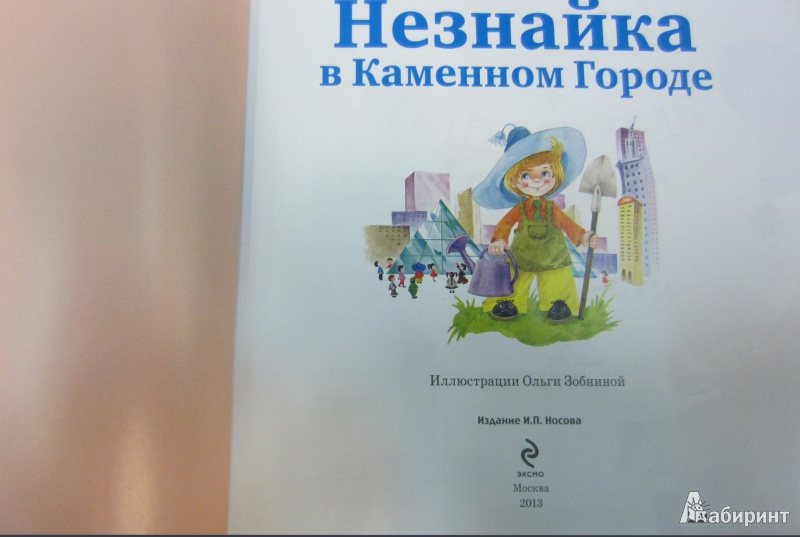 Иллюстрация 1 из 32 для Незнайка в Каменном Городе - Игорь Носов | Лабиринт - книги. Источник: Доброта