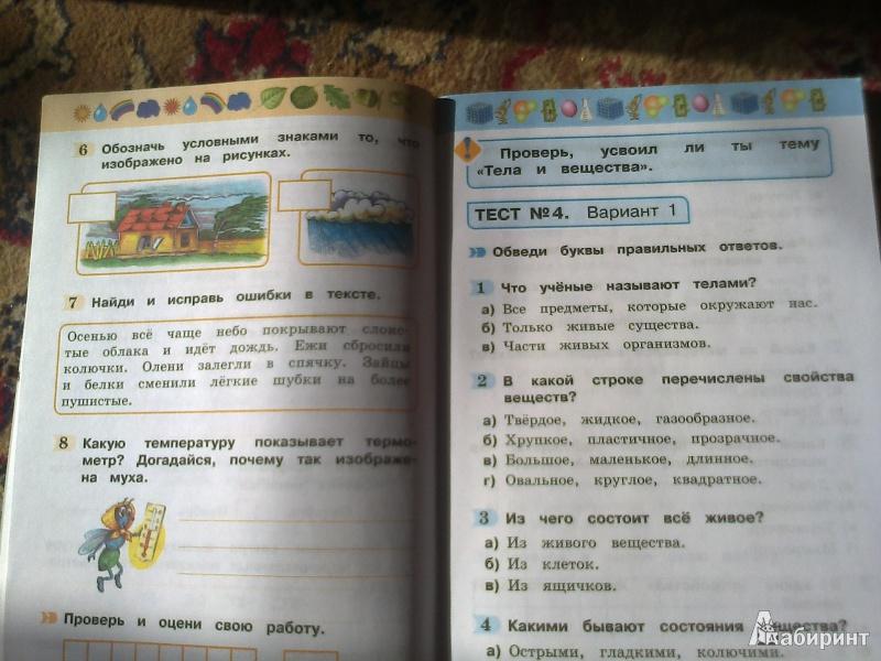 Окружающий мир 4 класс читать поглазова шилин