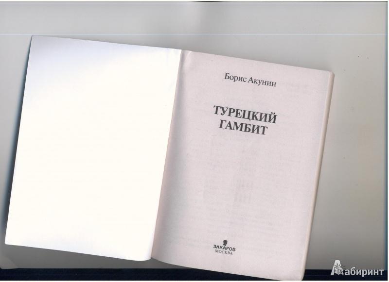 Иллюстрация 1 из 4 для Турецкий гамбит - Борис Акунин | Лабиринт - книги. Источник: Evgeniya