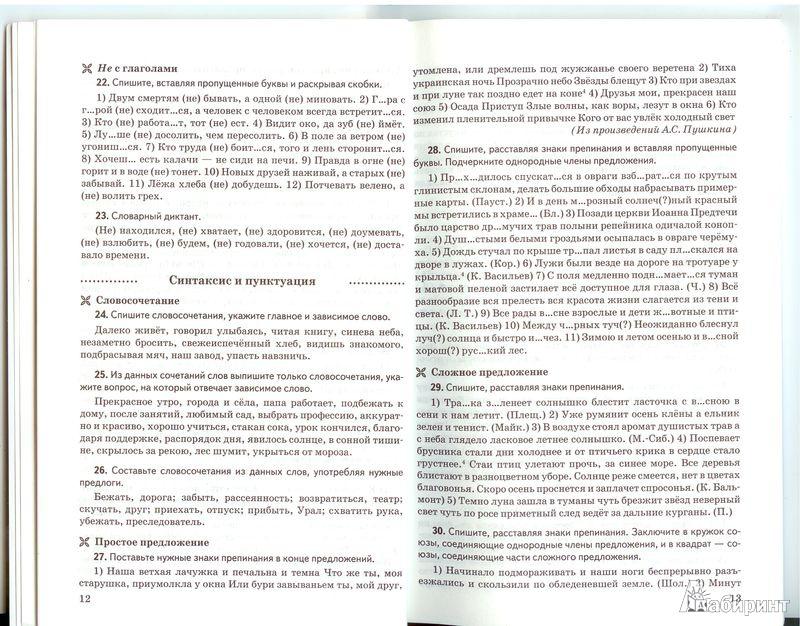Иллюстрация из для Русский язык класс Контрольные и  Иллюстрация 4 из 5 для Русский язык 6 класс Контрольные и проверочные работы к