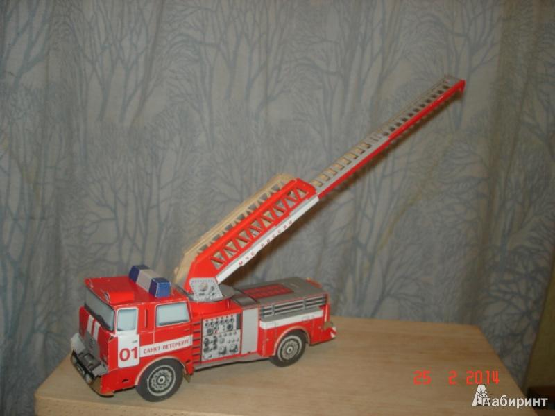 Иллюстрация 1 из 3 для 069 Пожарная машина | Лабиринт - книги. Источник: WarkentinTasya