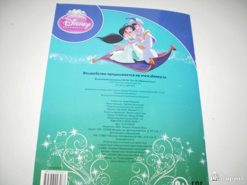 Иллюстрация 1 из 10 для Волшебная раскраска. Принцессы (№13119)   Лабиринт - книги. Источник: Sanananda