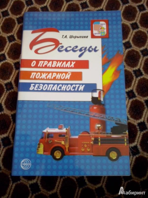 Иллюстрация 16 из 37 для Беседы о правилах пожарной безопасности - Татьяна Шорыгина | Лабиринт - книги. Источник: Олюсик