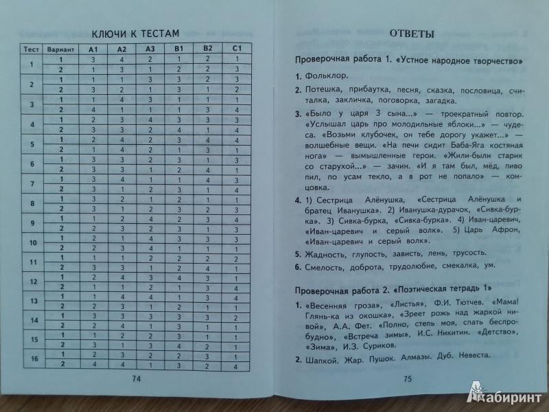 Начальная школа 1234 класс программы по ФГОС и
