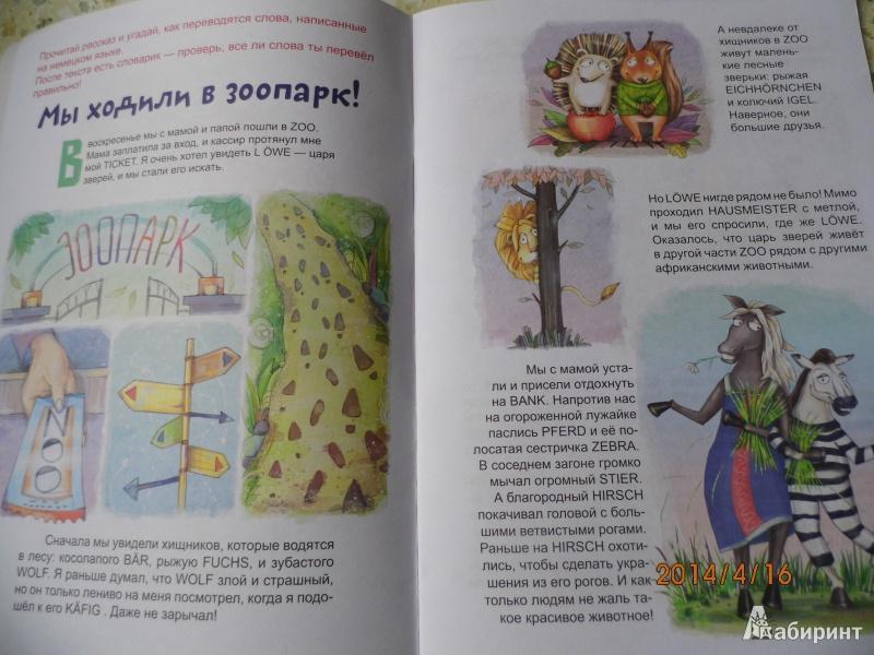 Иллюстрация 3 из 14 для Учим немецкие слова вместе с детьми: зоопарк - Каролина Малышенко | Лабиринт - книги. Источник: Настена 31