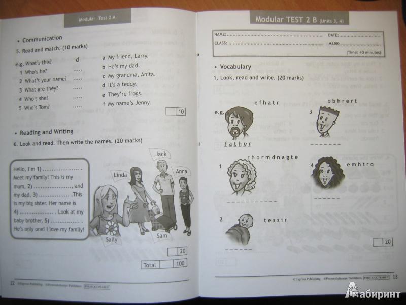 из для Английский в фокусе класс Контрольные задания  Иллюстрация 6 из 16 для Английский в фокусе 3 класс Контрольные задания ФГОС Быкова Дули Эванс
