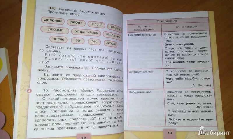 2 4 класс ответы часть 2019 русский зеленина язык решебник