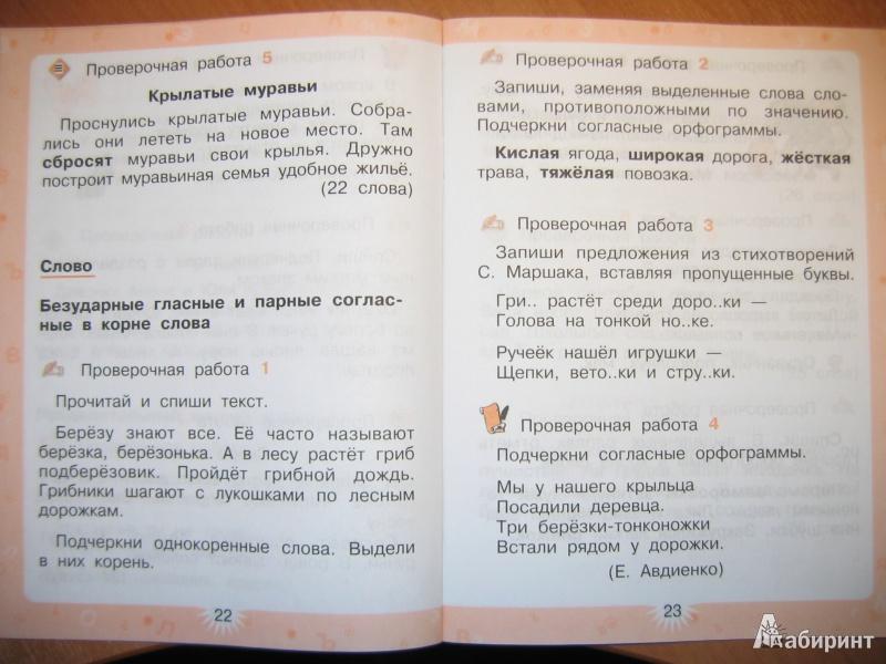 по 3 работы языку решебник канакина контрольные русскому класс