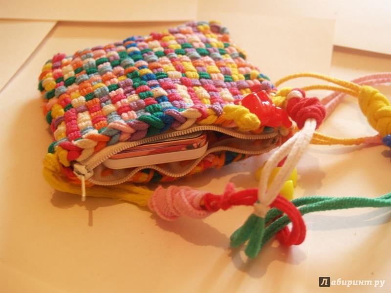 Иллюстрация 1 из 12 для Набор для плетения: кошельки, прихватки, тесьма + станок (184WP) | Лабиринт - игрушки. Источник: Cовушка