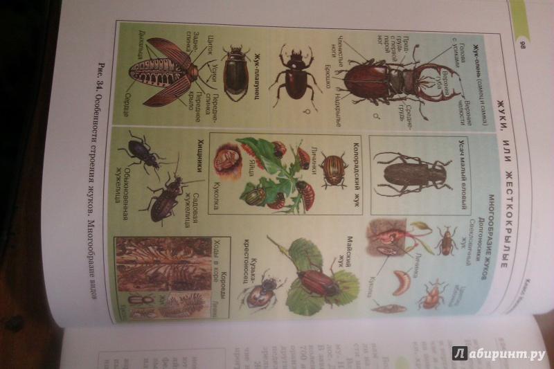 Суматохин биология учебник трайтак 7 гдз класс