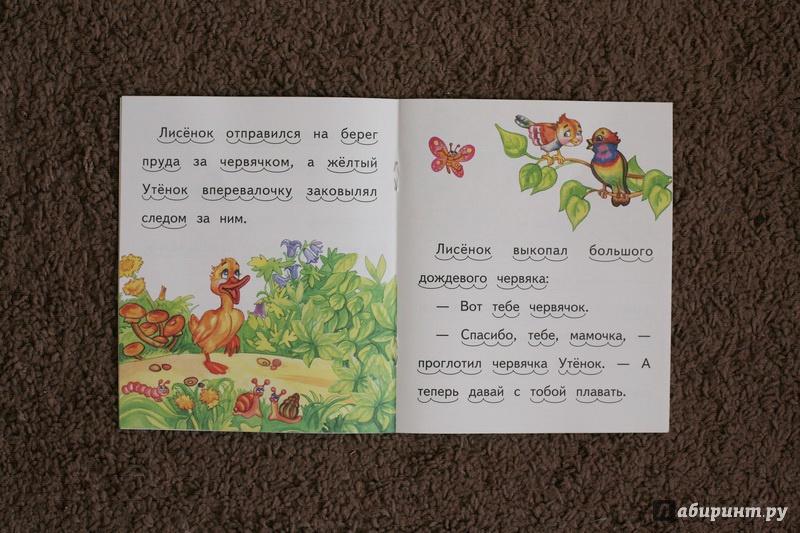 Иллюстрация 9 из 11 для Как рыжий лисенок мамой уткой был - Елена Ермолова | Лабиринт - книги. Источник: дважды