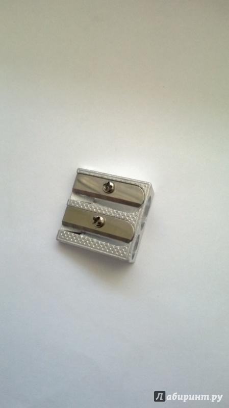 Иллюстрация 1 из 6 для Точилка металл, двойная А1006 EaSTar | Лабиринт - канцтовы. Источник: Киссяндра
